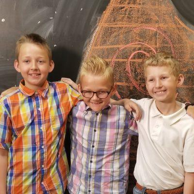Devin, Collin & Ethan